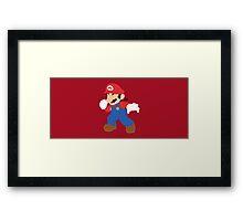 Mario - Super Smash Bros. Framed Print