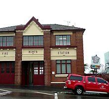 Fire Station, Katoomba, N.S.W. Australia by Margaret  Hyde