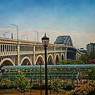 Veterans Memorial Bridge by MClementReilly