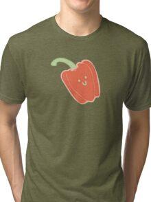 Vegasaur- Capsicum Tri-blend T-Shirt