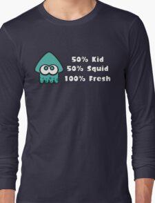 Splatoon Fresh Shirt (Turquoise) Long Sleeve T-Shirt