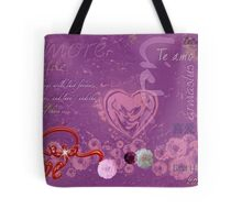 Love Hearts Words that Inspire Tote Bag