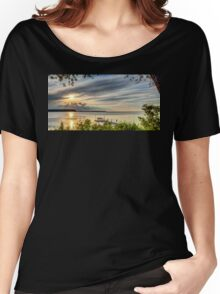 Through the Leaves Women's Relaxed Fit T-Shirt