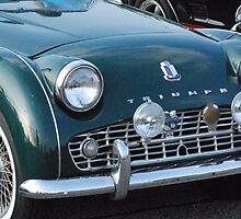 Old Antique Triumph car by Phil Roberson