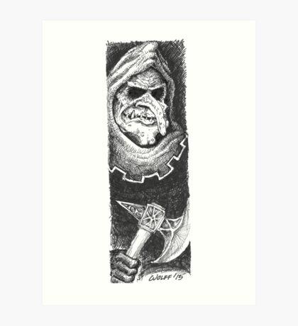 Troll Art Print