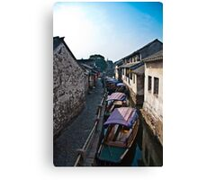Waterways Canvas Print