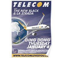 Telecom at Ding Dong 2007 01 04 Poster