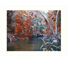 Serpentine Gorge, Central Australia Art Print