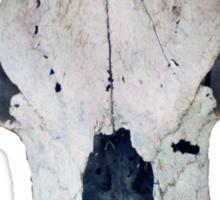 Old Cow Skull tee Sticker