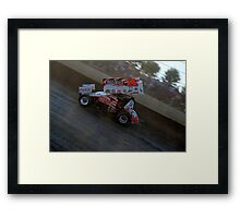 Smokes 360 Sprint car Framed Print