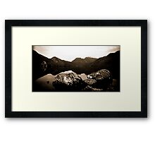 Dove Lake  Framed Print