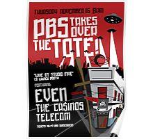 Telecom at the Tote 2006 11 16 Poster