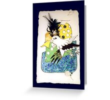 """I will see"" said Mynah mischievous ... Greeting Card"