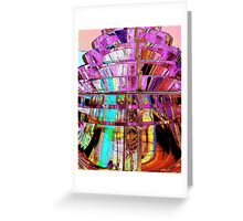 Fresnel Lens Greeting Card