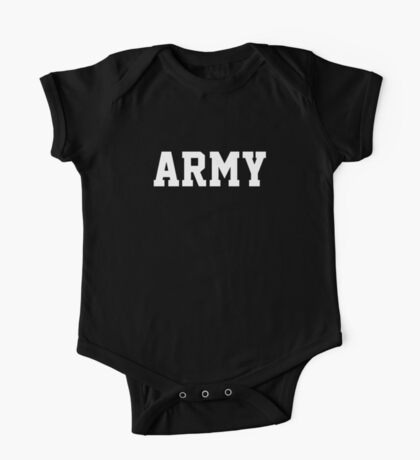 ARMY Physical Training US Military Crossfit Workout Gym PT Sleeveless One Piece - Short Sleeve
