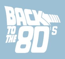 Back to the 80's,  Baby Tee