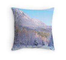 Alpine Railroad Throw Pillow