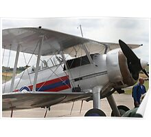 Gloster Gladiator, Shuttleworth Collection Poster