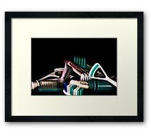 Brush Framed Print