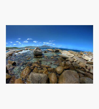 Rocks at Bettys beach Photographic Print