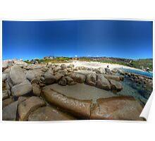 Bettys Beach, WA Poster