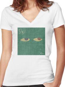 Saint Motel Voyeur Women's Fitted V-Neck T-Shirt