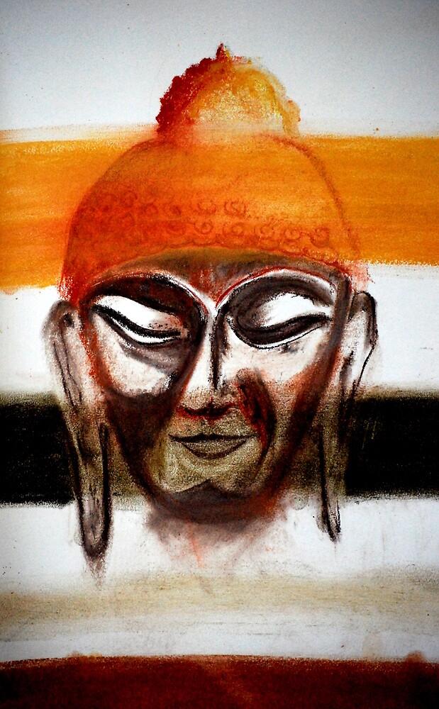 buddha 2  by Lynn Hughes