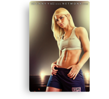 :::Fitness::: Canvas Print