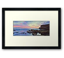 Rock Colour Framed Print