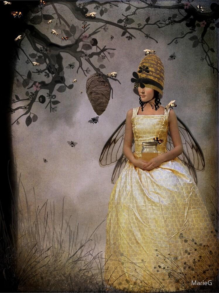The Bee Charmer by MarieG