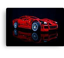 Lego Ferrari Canvas Print
