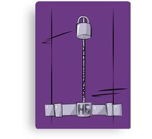 Hit Girl Frontal Canvas Print