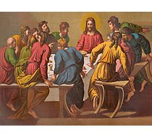 The Last Supper.  [after Raphael.] Photographic Print