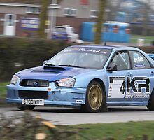 Karl Broad/Roger Grant - Subaru Impreza - K&R Mitsubishi Stages 2011 by MSport-Images