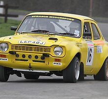 Phil Sprason/Andy Boswell - Escort Mk1 - K&R Mitsubishi Stages 2011 by MSport-Images
