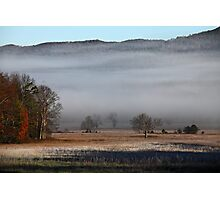 On A Crystal Morning Photographic Print