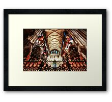 St-Patrick Cathedral, Dublin, Ireland Framed Print