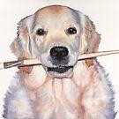 Arts & Dogs 2015 - Dog Portraits by Nicole Zeug by Nicole Zeug
