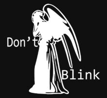 DON'T BLINK Kids Tee