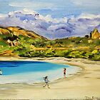 Lucky Bay by Jen  Biscoe