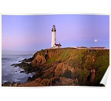 Pigeon Point Lighthouse Sunrise Poster