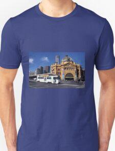 Flinders Street Station and Melbourne tram T-Shirt