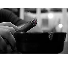 Black & White Stogie Photographic Print
