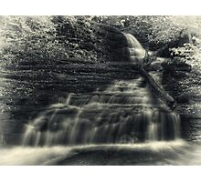 Huron Falls (faux vintage) Photographic Print