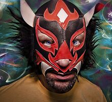 Portrait of a Luchador by makbet666