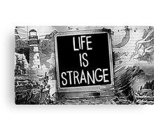 Strange Is Life Canvas Print