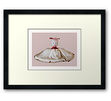 dress up doll, 2011 Framed Print