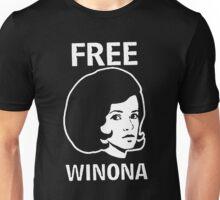 FREE WINONA Ryder DEPP brooklyn Hip TMZ NYC Hollywood Celebrity Unisex T-Shirt