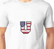 Union College American Flag Unisex T-Shirt