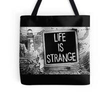 Strange Is Life Tote Bag